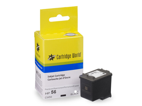 HP 56 CW REPLACEMENT BLACK INK 19ML