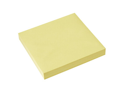 STICKY NOTES YELLOW 38X511.5X2