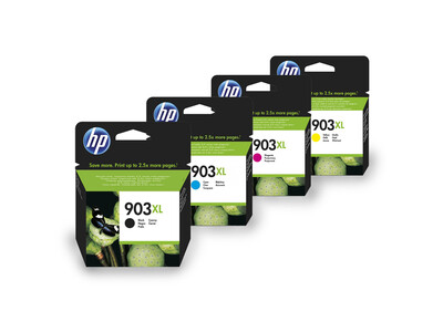 HP 903XL ORIGINAL INK SET OF 4
