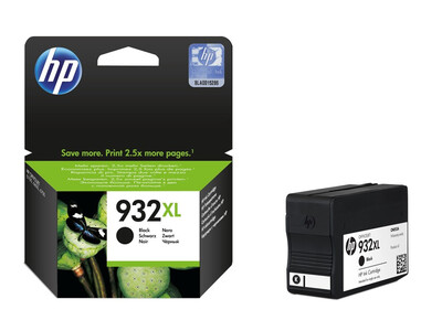 HP 932XL ORIGINAL BLACK INK 22.5ML