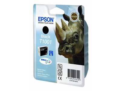 EPSON T1001 ORIGINAL BLACK INK