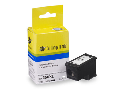 HP 350XL CW REPLACEMENT BLACK INK 30ML!
