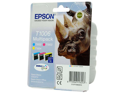 EPSON T1006 ORIGINAL INK MULTIPACK 3 CMY