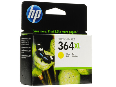 HP 364 EXTRA LARGE ORIGINAL YELLOW INK