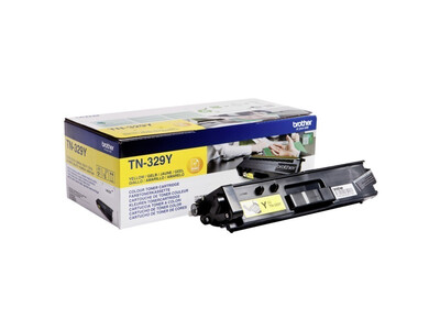 BROTHER TN329 ORIGINAL TONER YELLOW