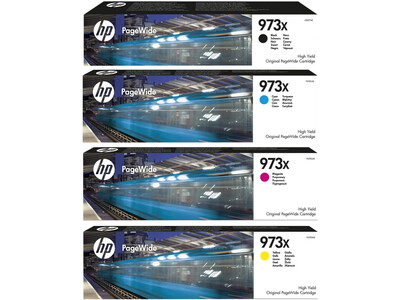 HP 973XL ORIGINAL INK SET OF 4