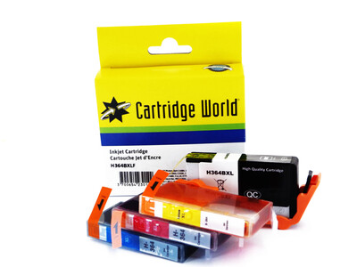 HP 364 XL CW REPLACEMENT SET OF 4 INKS
