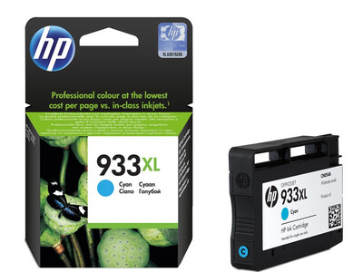 HP 933XL ORIGINAL CYAN INK 8.5ML