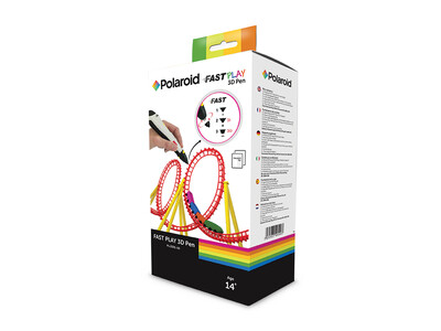 POLAROID FAST PLAY 3D PEN - 3 interchangeable nozzles