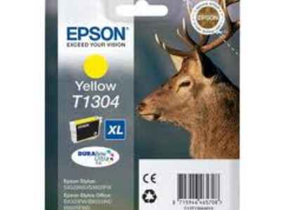 EPSON T1304 XL H/Y ORIGINAL YELLOW INK