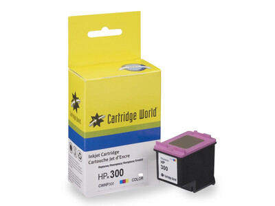 HP 300 CW REPLACEMENT COLOUR INK 15ML!