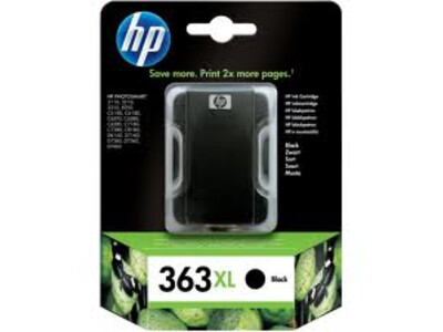 HP 363 ORIGINAL HIGH YIELD BLACK INK