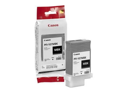 CANON INK PFI 107 ORIGINAL MATTE BLACK INK