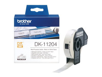 BROTHER MULTIPURPOSE LABELS 17MM X 54MM