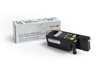 XEROX WC 6025/6027 P6020/6022 ORIGINAL TONER YELLOW