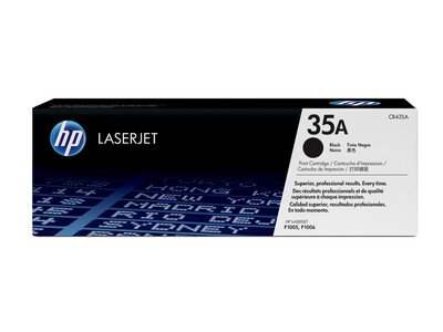 HP CB435A ORIGINAL TONER BLACK