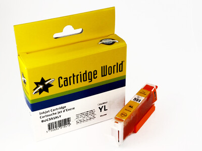 CANON CLI551 XL CW REPLACEMENT YELLOW INK 11ML