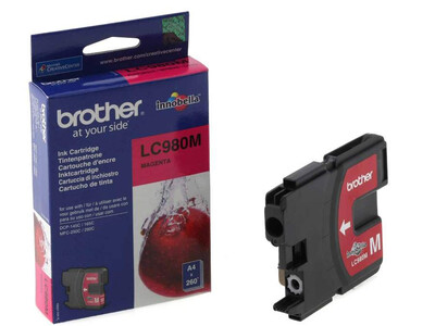 BROTHER LC980 ORIGINAL MAGENTA INK