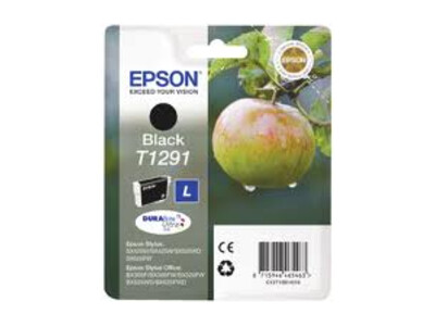 EPSON T1291 H/Y ORIGINAL BLACK INK