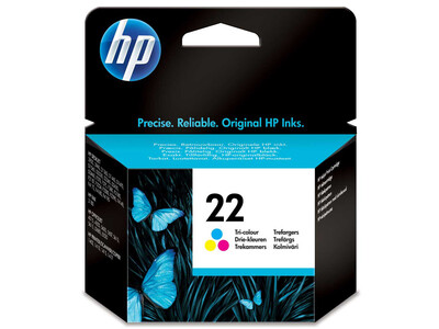 HP 22 ORIGINAL COLOUR INK 6ML