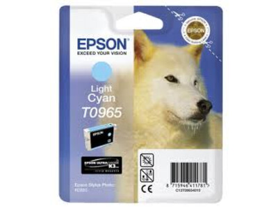 EPSON T0966 ORIGINAL LIGHT CYAN INK