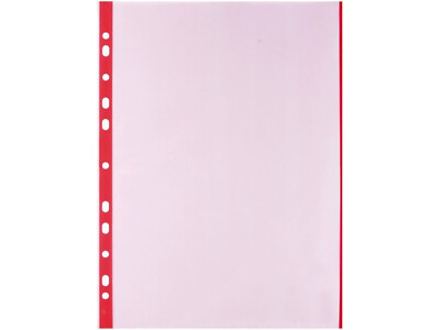 PVC COPY SAFE A4 0.70MM RED20PCS