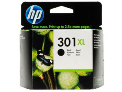 HP 301 EXTRA LARGE ORIGINAL BLACK INK 8ML