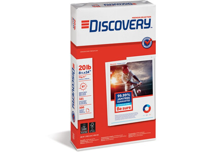 DISCOVERY 75G 8.5 X 11.0  COPY PAPER 500 Sheets