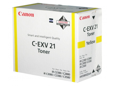 CANON C-EXV21 ORIGINAL TONER YELLOW