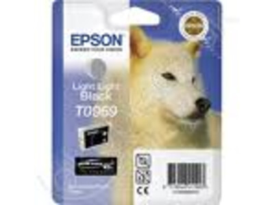 EPSON T0969 ORIGINAL L/ LIGHT BLACK INK