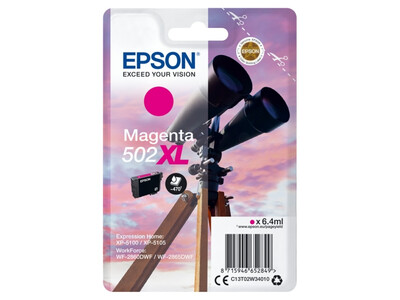 EPSON 502 XL ORIGINAL MAGENTA INK