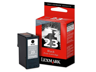 LEXMARK 23 ORIGINAL BLACK INK
