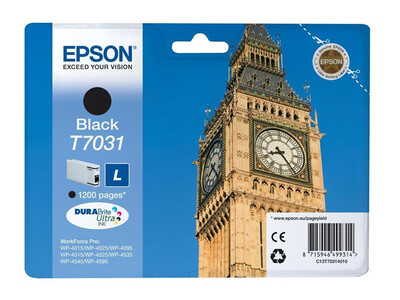 EPSON T703140 ORIGINAL BLACK INK LARGE