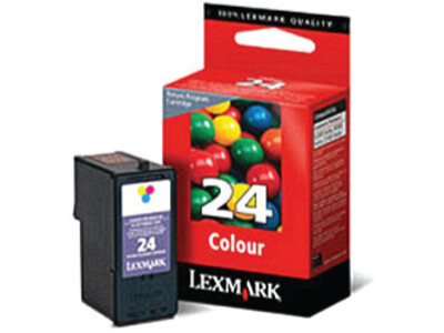 LEXMARK 24 ORIGINAL COLOUR INK