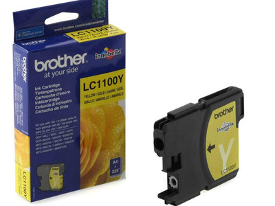 BROTHER LC1100 ORIGINAL YELLOW INK