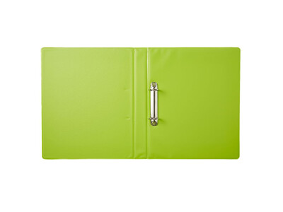 PVC BINDER 2-RINGS GREEN