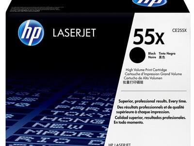 HP CE255X ORIGINAL H/Y TONER BLACK