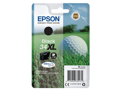 EPSON 34XL ORIGINAL BLACK INK