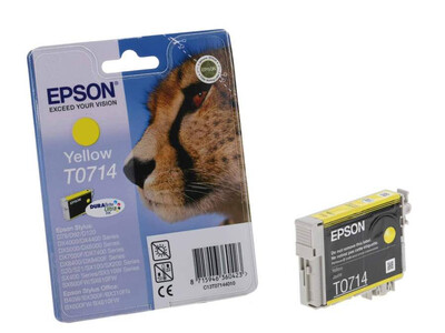 EPSON T0714 ORIGINALYELLOW INK