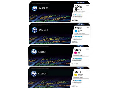 HP CF400X ORIGINAL TONER SET OF 4 201X