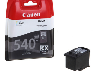 CANON PG540 ORIGINAL BLACK INK 8ML