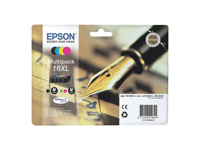 EPSON T1636XL 16XL ORIGINAL multipack 4