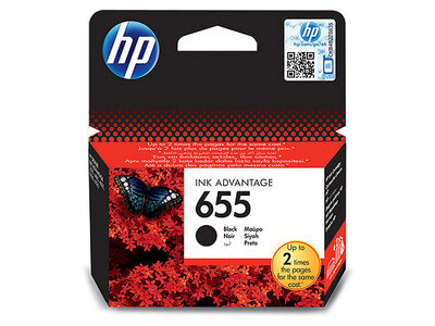 HP 655 ORIGINAL BLACK INK