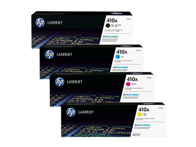 HP CF410A ORIGINAL TONER SET OF 4