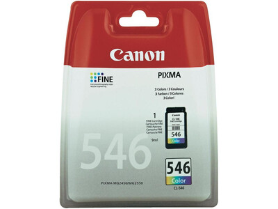CANON CL546  ORIGINAL COLOUR INK 9ML