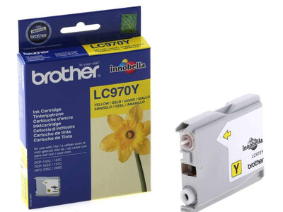 BROTHER LC970 ORIGINAL YELLOW INK