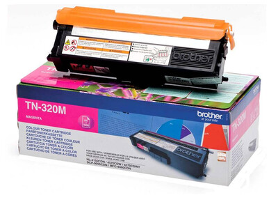 BROTHER TN320 ORIGINAL TONER MAGENTA
