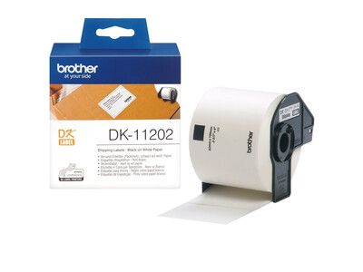 BROTHER SHIPPING LABELS 62MM X 100MM