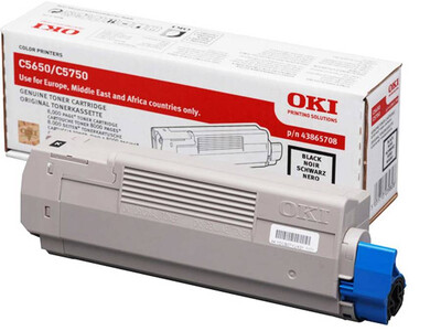 OKI C5650 ORIGINAL TONER BLACK