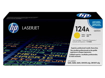 HP Q6002A ORIGINAL TONER YELLOW
